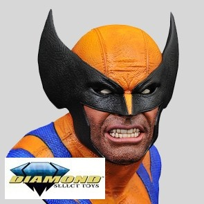 Diamond Select - Wolverine -1/2 Scale Bust - Legends in 3D