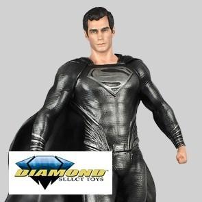 Diamond Select - Man of Steel Krypton Superman - DC Gallery PVC Statue