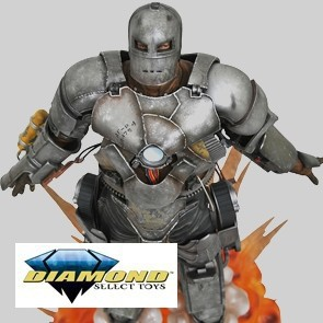 Marvel Milestones 10Th Ann Iron-Man Mk1 Movie Statue - Diamond Select