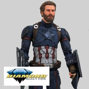 Diamond Select - Captain Amerioca - Infinity War - Actionfiguren