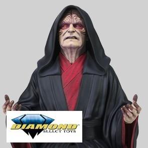 Diamond Select - Emperor Palpatine Büste - Star Wars: Episode IX