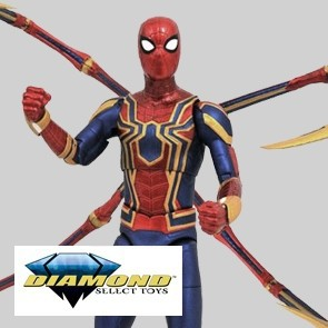 Diamond Select - Iron Spider - Infinity War - Actionfiguren