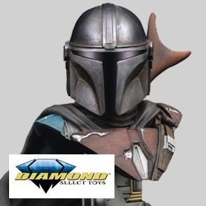 Diamond Select - The Mandalorian - Star Wars: The Mandalorian - 1/2 Scale Bust