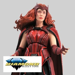 Diamond Select - The Scarlet Witch -WandaVision - Marvel Select-Actionfigur