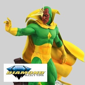 Diamond Select - Vision - Marvel Comics Statue Diorama PVC Gallery