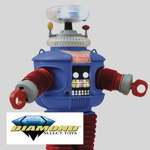 Diamond Select - Lost In Space - B9 - Elektronischer Roboter