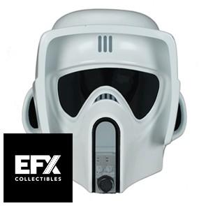 1:1 Biker Scout Trooper Prop Replica Helmet - EFX