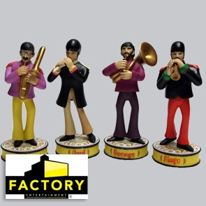 The Beatles - Deluxe Premium Motion Statues