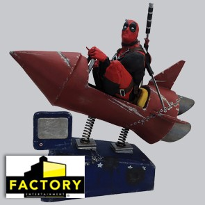 Deadpool Rocket Ride - Factory Entertainment