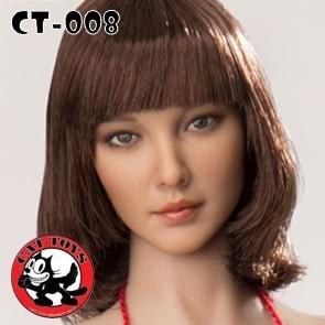 Cat Toys - 1/6 Asian Girl Head Sculpt - Ct008a