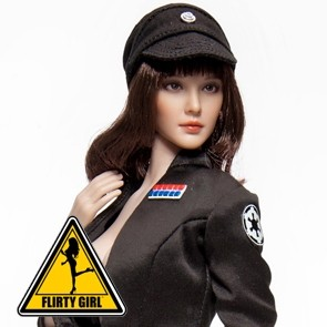 Flirty Girl - Space Officer - Clothing Set - Black