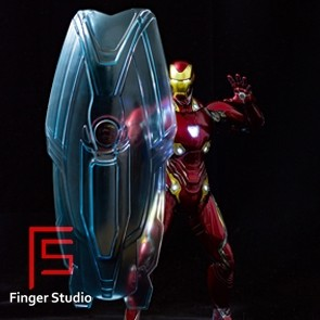 Finger Studio - Iron Man Holographic Light Shield - 1/6th Scale