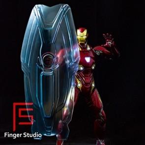 Finger Studio - Iron Man Holographic Light Shield - 1/6th Scale