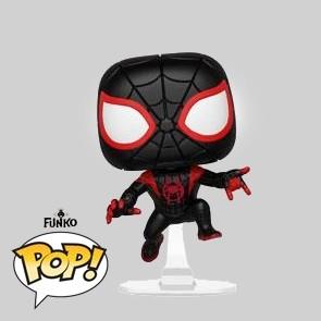 Funko Pop - Animated Spider-Man - Miles Morales Suit - Vinylfigur - 402