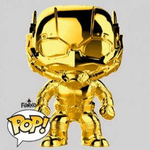 Funko Pop - Ant-Man Gold Chrome Vinylfigur - Marvel MS 10 - 384