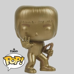 Funko Pop - Bruce Lee - Gold - Special Edition - Vinylfigur - 219