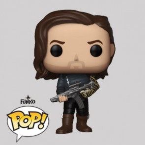 Funko Pop - Bucky with Weapon - Infinity War - Vinylfigur