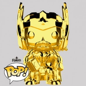 Funko Pop - Thor Gold Chrome Vinylfigur - Marvel MS 10 - 381