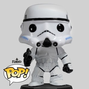 Funko Pop - Stormtrooper - Star Wars - Vinylfigur - 05