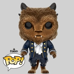 Funko Pop - Beauty and The Beast Live Action - Beast Flocked