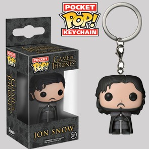 Jon Snow - Games of Thrones - Keychain