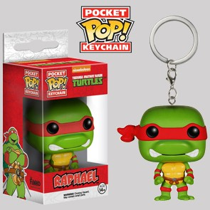 Raphael - Teenage Mutant Ninja Turtles - Keychain
