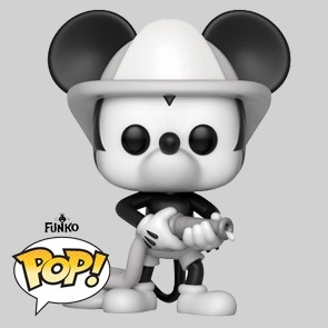 Funko Pop - Firefighter Mickey - Mikey's 90TH - Vinylfigur - 427