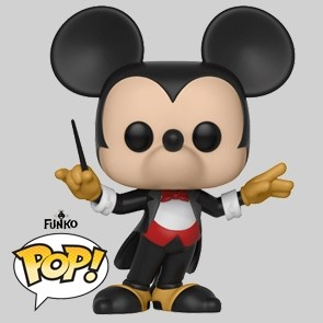 Funko Pop - Conductor Mickey - Mikey's 90TH - Vinylfigur - 428