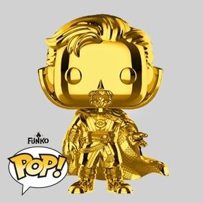 Funko Pop - Doctor Strange - Gold Chrome Vinylfigur - Marvel MS 10 - 439