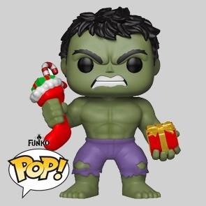 Funko Pop - Hulk XMas mit Geschenken - Vinylfigur - 398