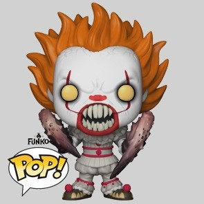 Funko Pop - Pennywise With Spider Legs - Stephen Kings ES - 542