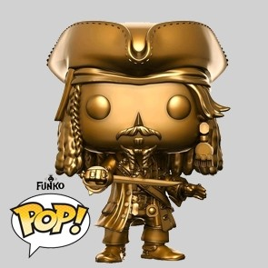 Funko Pop - Jack Sparrow - Pirates of the Caribbean - Gold Version - 273