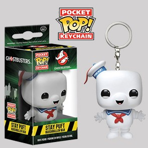 Stay Puft - Ghostbusters - Keychain - Funko Keychains