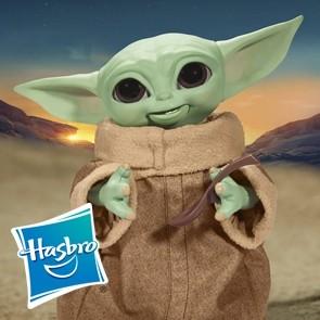 Hasbro - Galactic Snackin' Grogu - Star Wars: Mandalorian - Interaktive Figur