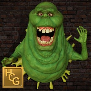 Slimer - Ghostbusters - Life-Size Wall Sculpture - Hollywood Collectibles