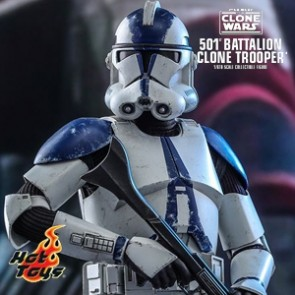 Hot Toys - 501st Battalion Clone Trooper - Star Wars: The Clone Wars