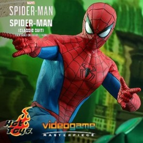 Hot Toys - Spider-Man Classic Suit - Marvel's Spider-Man - Viideo Game