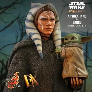 Hot Toys - Ahsoka Tano & Grogu - Star Wars: The Mandalorian - DX Version