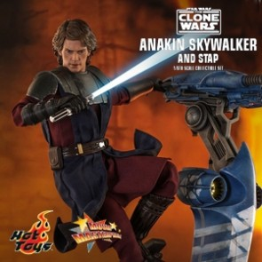 The 1/6th scale Anakin Skywalker Collectible Figure specially features: