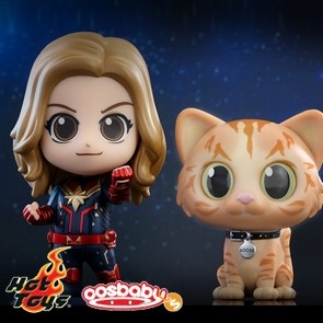 Hot Toys - Captain Marvel and Goose the Cat - Cosbaby (S)