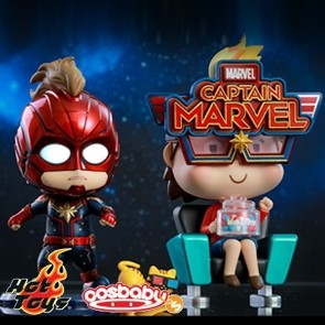 Hot Toys - Captain Marvel and Movbi - Cosbaby (S)