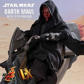 Darth Maul with Sith Speeder - Star Wars - DX17 - Hot Toys