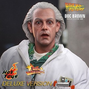 Hot Toys - Doc Brown - Back to the Future - Deluxe Version