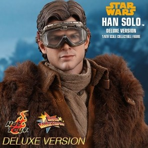 Han Solo - Solo: A Star Wars Story - Deluxe Version - Hot Toys