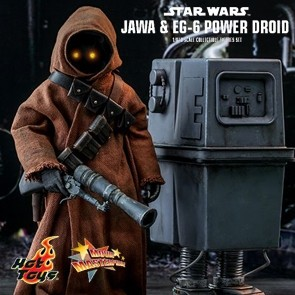 Hot Toys - Jawa & EG-6 Power Droid - Star Wars - A New Hope