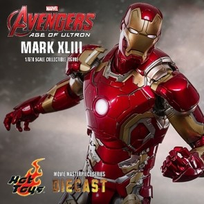 Hot Toys - Iron Man Mark XLII - Avengers: Age of Ultron - Diecast