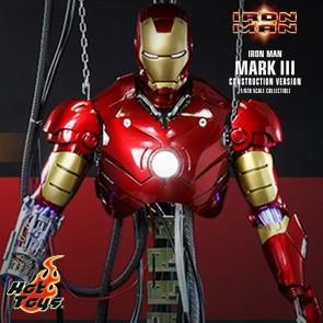 Hot Toys - Iron Man Mark III - Construction Version