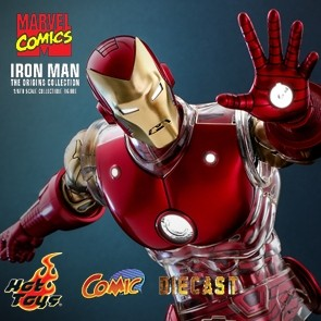 Hot Toys - Iron Man - The Origins Collection - Marvel Comics