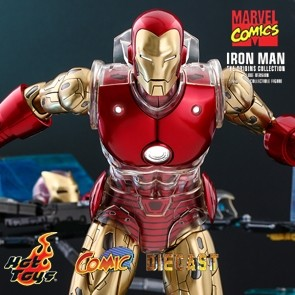 Hot Toys - Iron Man - The Origins Collection - Marvel Comics - Deluxe Version
