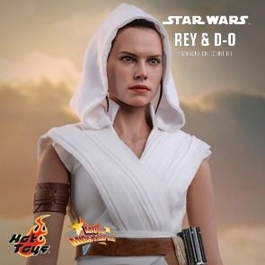 Hot Toys - Rey and D-0 - Star Wars: The Rise of Skywalker